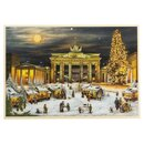 Ansicht Adventskalender - Berlin Brandenburger Tor