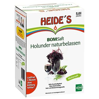 BOM-Saft Holundersaft Muttersaft (5 l Box)